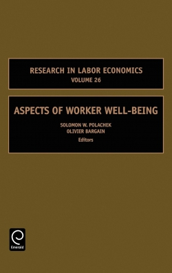 Jacket image for Aspects of Worker Well-Being