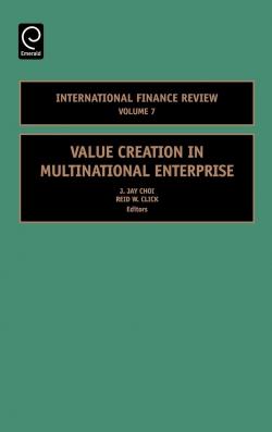 Jacket image for Value Creation in Multinational Enterprise
