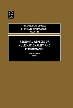 Jacket image for Regional Aspects of Multinationality and Performance