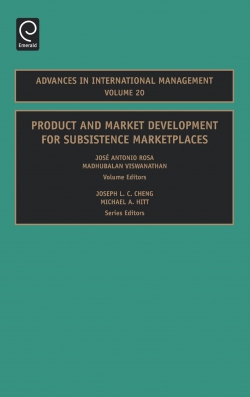 Jacket image for Product and Market Development for Subsistence Marketplaces
