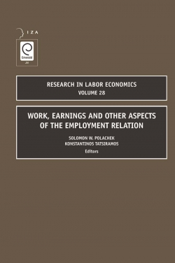 Jacket image for Work, Earnings and Other Aspects of the Employment Relation