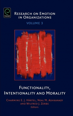 Jacket image for Functionality, Intentionality and Morality