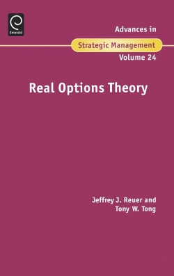 Jacket image for Real Options Theory