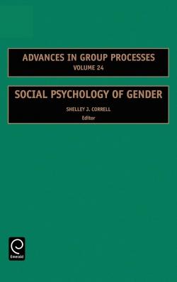 Jacket image for Social Psychology of Gender