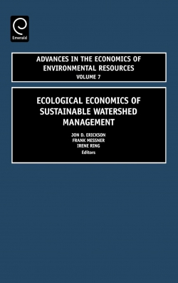 Jacket image for Ecological Economics of Sustainable Watershed Management