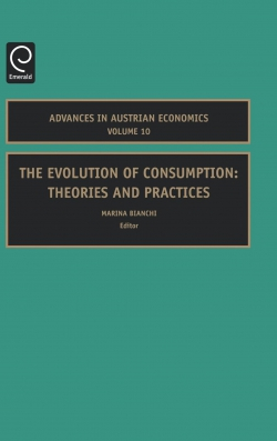 Jacket image for The Evolution of Consumption
