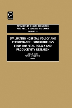 Jacket image for Evaluating Hospital Policy and Performance