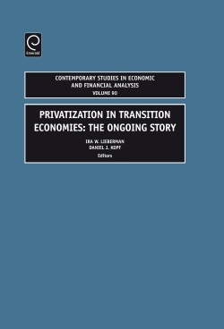 Jacket image for Privatization in Transition Economies