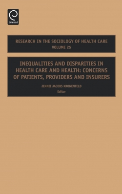 Jacket image for Inequalities and Disparities in Health Care and Health