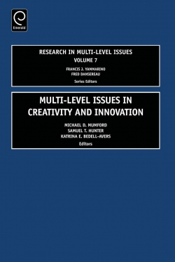 Jacket image for Multi Level Issues in Creativity and Innovation