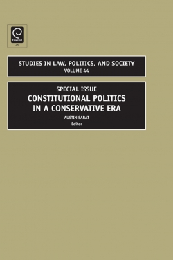 Jacket image for Constitutional Politics in a Conservative Era
