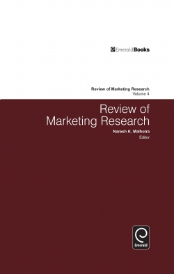Jacket image for Review of Marketing Research