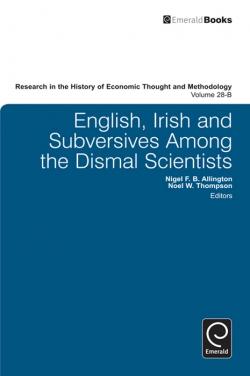 Jacket image for English, Irish and Subversives Among the Dismal Scientists