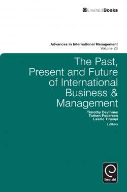 Jacket image for The Past, Present and Future of International Business and Management