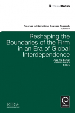 Jacket image for Reshaping the Boundaries of the Firm in an Era of Global Interdependence