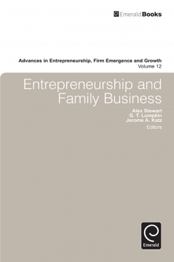 Jacket image for Entrepreneurship and Family Business