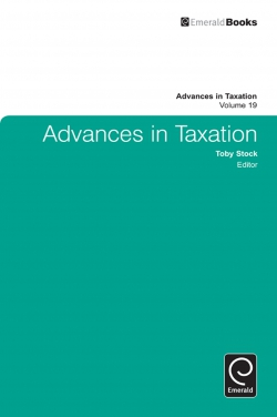 Jacket image for Advances in Taxation