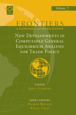 Jacket image for New Developments in Computable General Equilibrium Analysis for Trade Policy