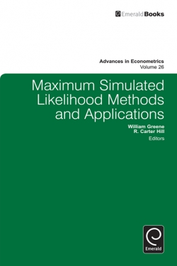 Jacket image for Maximum Simulated Likelihood Methods and Applications