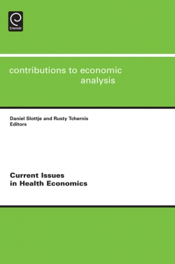 Jacket image for Current Issues in Health Economics
