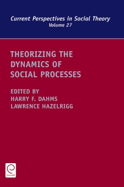Jacket image for Theorizing the Dynamics of Social Processes