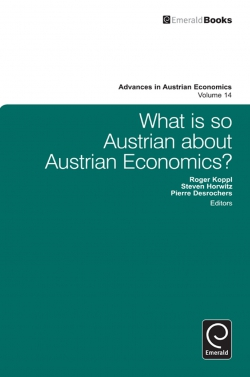Jacket image for What is so Austrian about Austrian Economics?