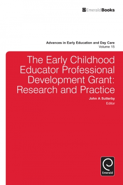 Jacket image for The Early Childhood Educator Professional Development Grant