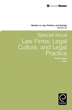 Emerald: Title Detail: Special Issue: Law Firms, Legal