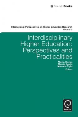 Jacket image for Interdisciplinary Higher Education