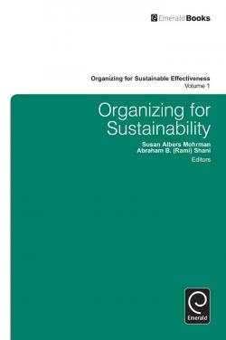 Jacket image for Organizing for Sustainability