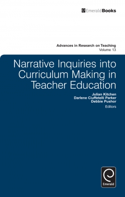 Jacket image for Narrative Inquiries into Curriculum Making in Teacher Education