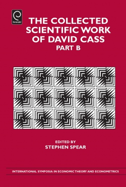 Jacket image for The Collected Scientific Work of David Cass