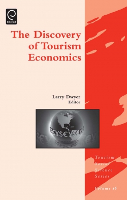 Jacket image for Discovery of Tourism Economics