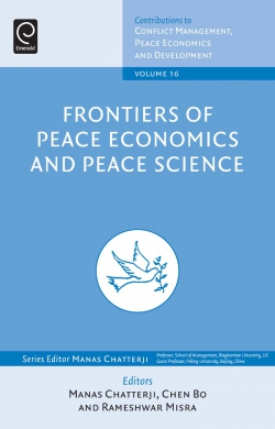 Jacket image for Frontiers of Peace Economics and Peace Science