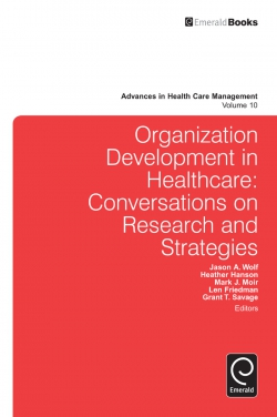 Jacket image for Organization Development in Healthcare