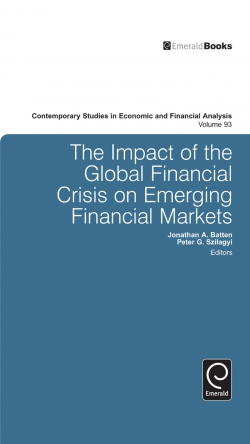 Jacket image for The Impact of the Global Financial Crisis on Emerging Financial Markets