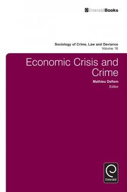 Jacket image for Economic Crisis and Crime