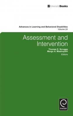Jacket image for Assessment and Intervention