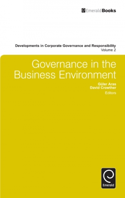 Jacket image for Governance in the Business Environment