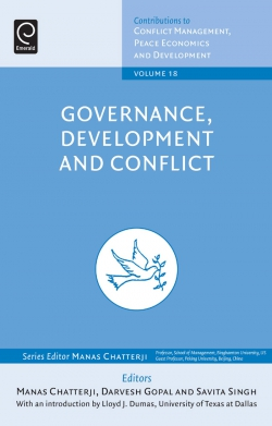 Jacket image for Governance, Development and Conflict