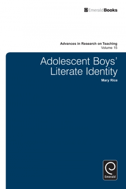 Jacket image for Adolescent Boy's Literate Identity