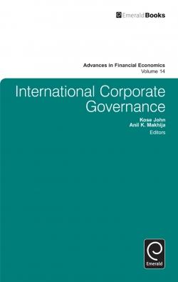 Jacket image for International Corporate Governance