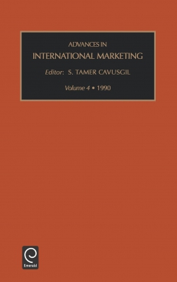 Jacket image for Advances in International Marketing