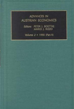 Jacket image for Advances in Austrian Economics