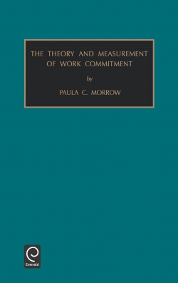 Jacket image for Theory and Measurement of Work Commitment