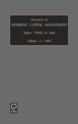 Jacket image for Advances in Working Capital Management