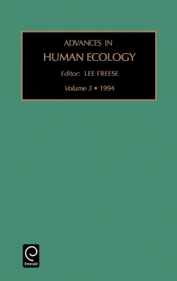Jacket image for Advances in Human Ecology