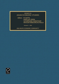 Jacket image for Research in Asian Economic Studies