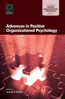 Jacket image for Advances in Positive Organization