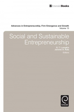 Jacket image for Social and Sustainable Entrepreneurship